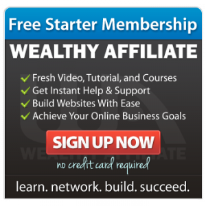 Website hosted and created at Wealthy Affiliate/WordPress