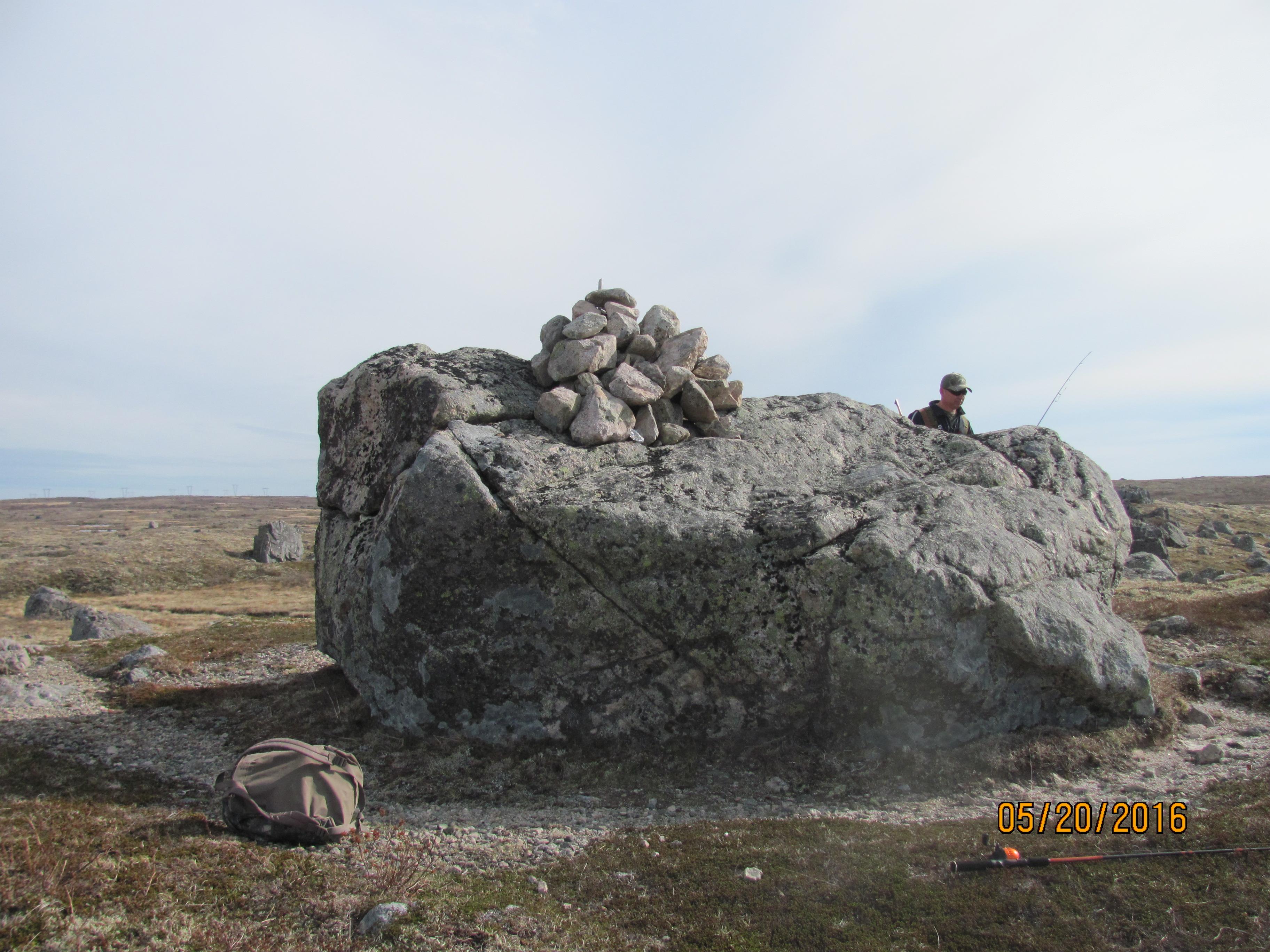 Half-way rock